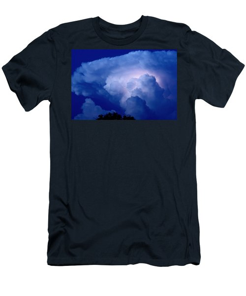Men's T-Shirt (Slim Fit) featuring the photograph Evening Giant by Charlotte Schafer