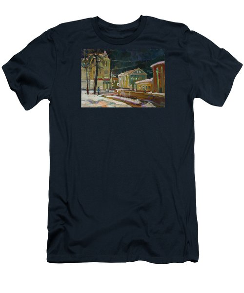Evening Paints Men's T-Shirt (Athletic Fit)