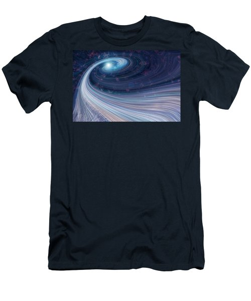 Fabric Of Space Men's T-Shirt (Athletic Fit)