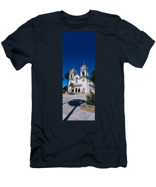 Facade Of A Cathedral, Portuguese Men's T-Shirt (Athletic Fit)