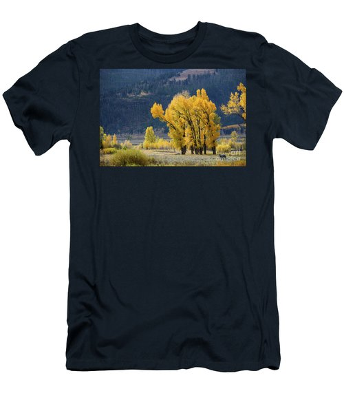 Fall In Yellowstone Men's T-Shirt (Athletic Fit)