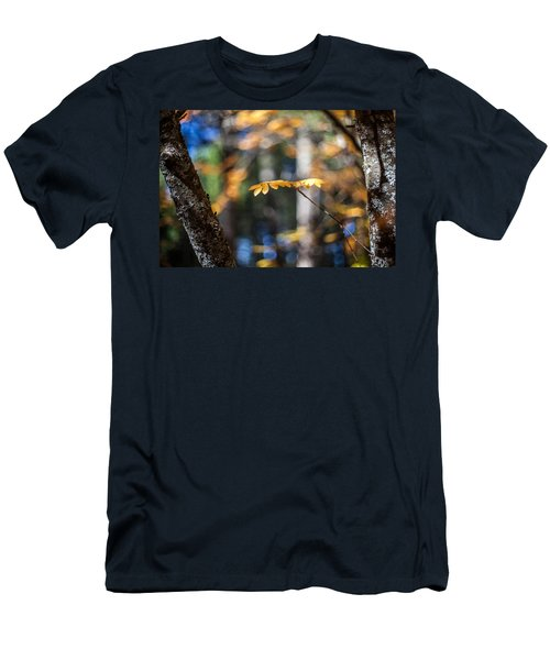 Fall Suspended Men's T-Shirt (Slim Fit) by Aaron Aldrich