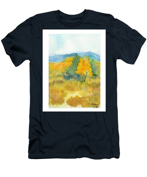 Fall Trees Men's T-Shirt (Athletic Fit)