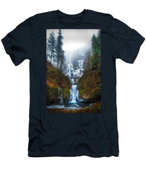 Falls Of Heaven Men's T-Shirt (Athletic Fit)