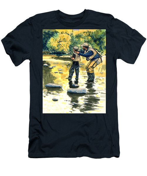 Father And Son Men's T-Shirt (Slim Fit)