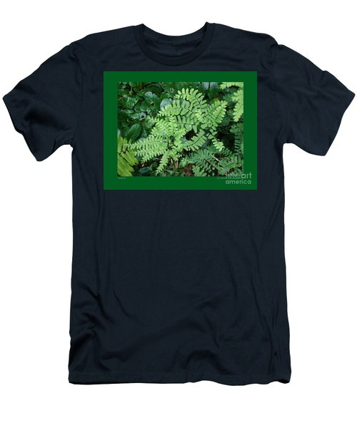 Ferns-iii Men's T-Shirt (Athletic Fit)