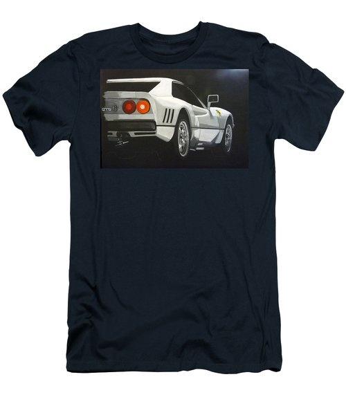 Men's T-Shirt (Athletic Fit) featuring the painting Ferrari 288 Gto by Richard Le Page