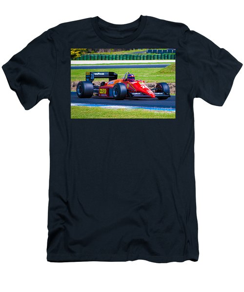 Ferrari At Phillip Island Men's T-Shirt (Athletic Fit)