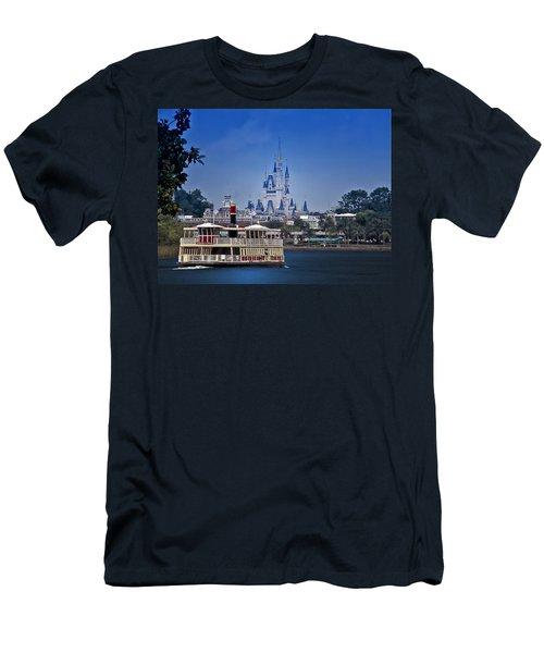 Ferry Boat Magic Kingdom Walt Disney World  Men's T-Shirt (Athletic Fit)