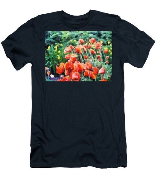 Field Of Flowers Men's T-Shirt (Athletic Fit)
