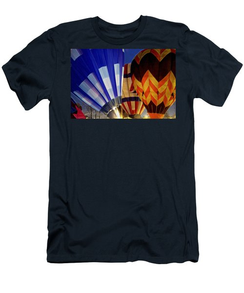 Men's T-Shirt (Slim Fit) featuring the photograph Firing Up by Kathy Bassett