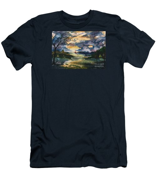 First One Out Of The Cove  Men's T-Shirt (Athletic Fit)