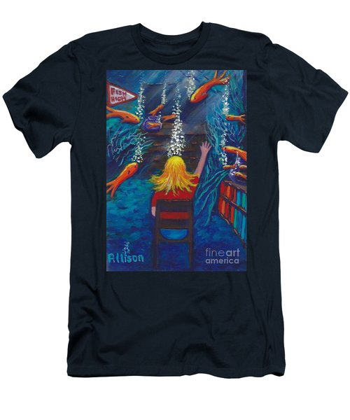 Fish Dreams Men's T-Shirt (Athletic Fit)