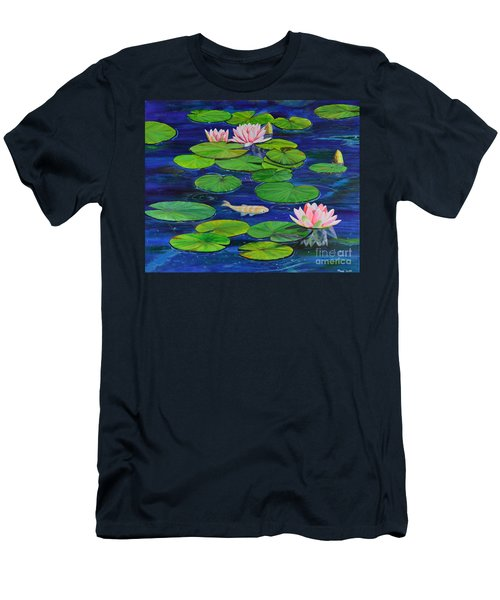 Tranquil Pond Men's T-Shirt (Athletic Fit)