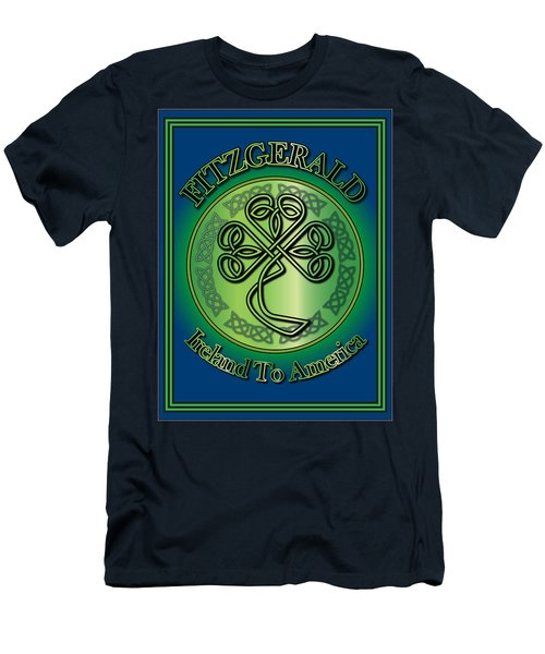 Fitzgerald Ireland To America Men's T-Shirt (Slim Fit) by Ireland Calling