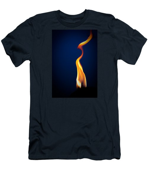 Flame Men's T-Shirt (Athletic Fit)
