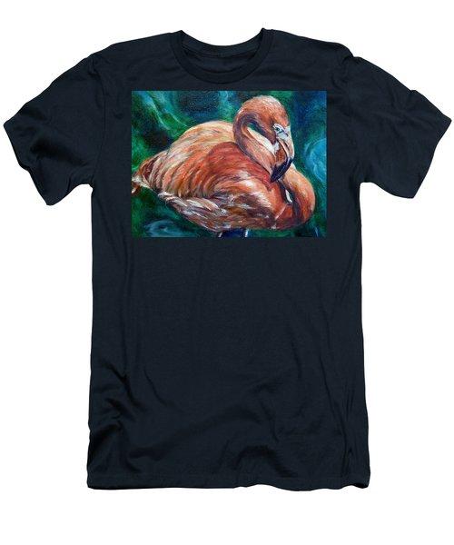Flamingo Flare Men's T-Shirt (Athletic Fit)