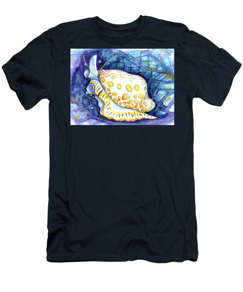 Flamingo Tongue Men's T-Shirt (Athletic Fit)