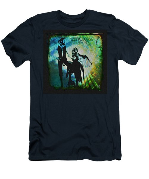 Fleetwood Mac - Cover Art Design Men's T-Shirt (Athletic Fit)