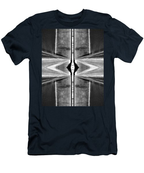 Men's T-Shirt (Athletic Fit) featuring the photograph September 11th Memorial by Keith McGill