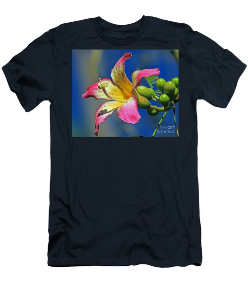 Floss Silk Bloom Men's T-Shirt (Slim Fit) by Larry Nieland