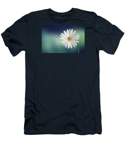 Flower Men's T-Shirt (Slim Fit) by Bess Hamiti