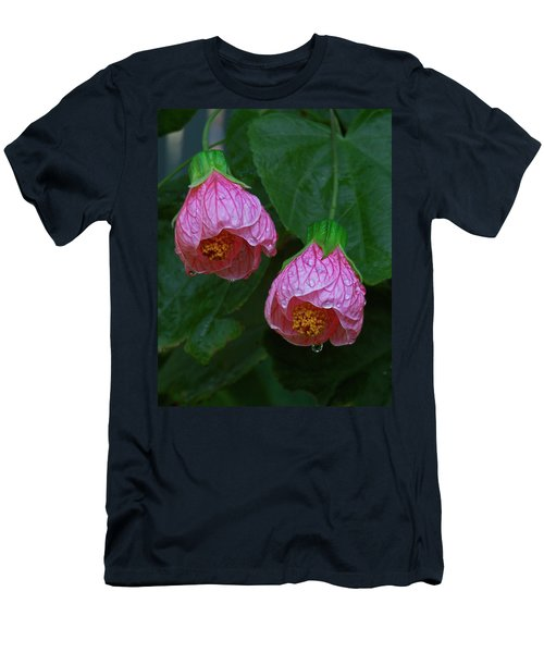 Flowering Maple Men's T-Shirt (Athletic Fit)
