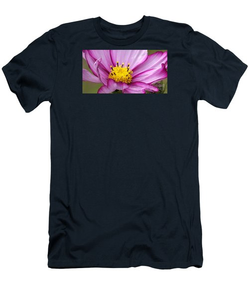 Flowers For The Wall Men's T-Shirt (Slim Fit) by Eunice Miller