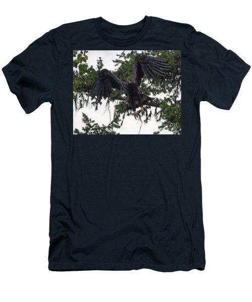 Focused On Prey Men's T-Shirt (Athletic Fit)