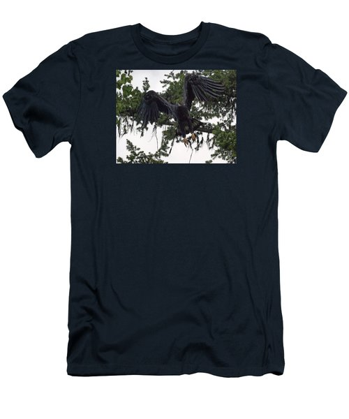 Focused On Prey Men's T-Shirt (Athletic Fit)