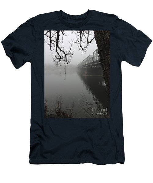 Foggy Morning In Paradise - The Bridge Men's T-Shirt (Athletic Fit)
