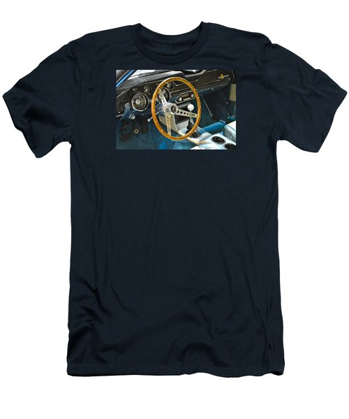 Ford Mustang Shelby Men's T-Shirt (Slim Fit) by Pamela Walrath