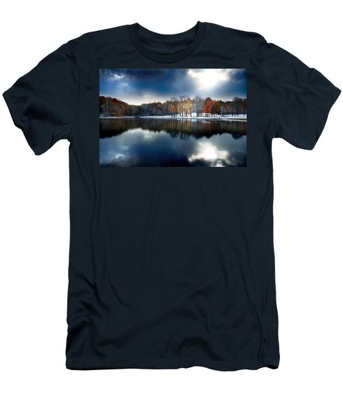 Foreboding Beauty Men's T-Shirt (Slim Fit) by Rob Blair