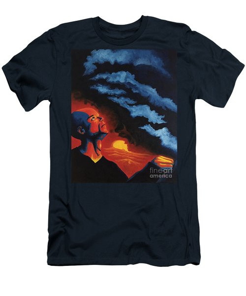 Foreseen Men's T-Shirt (Slim Fit) by Michael  TMAD Finney