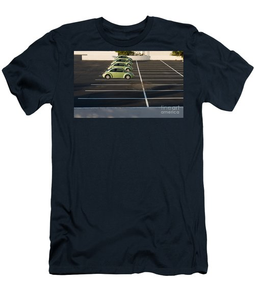 Four Green Beetles Men's T-Shirt (Athletic Fit)