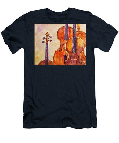 Four Violins Men's T-Shirt (Athletic Fit)