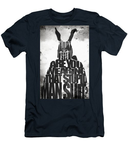 Frank The Rabbit - Donnie Darko Men's T-Shirt (Athletic Fit)