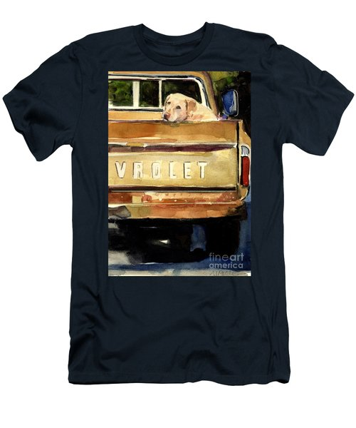 Free Ride Men's T-Shirt (Slim Fit) by Molly Poole