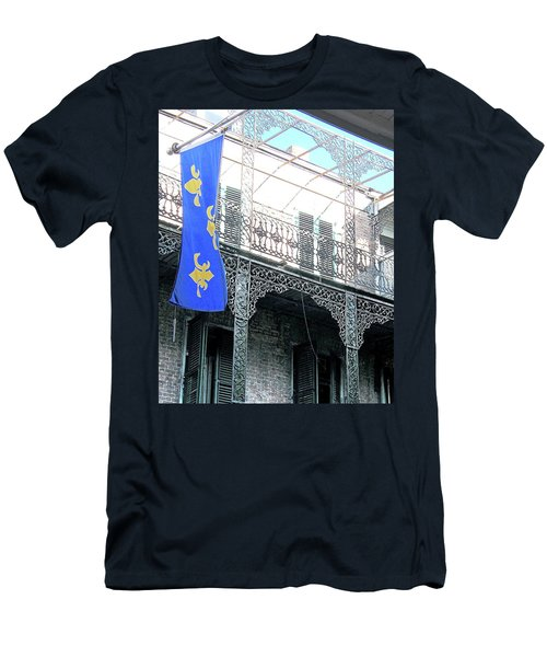 Men's T-Shirt (Slim Fit) featuring the photograph French Quarter Nola by Lizi Beard-Ward