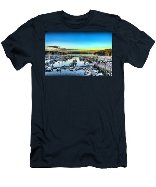 Friday Harbor Men's T-Shirt (Athletic Fit)