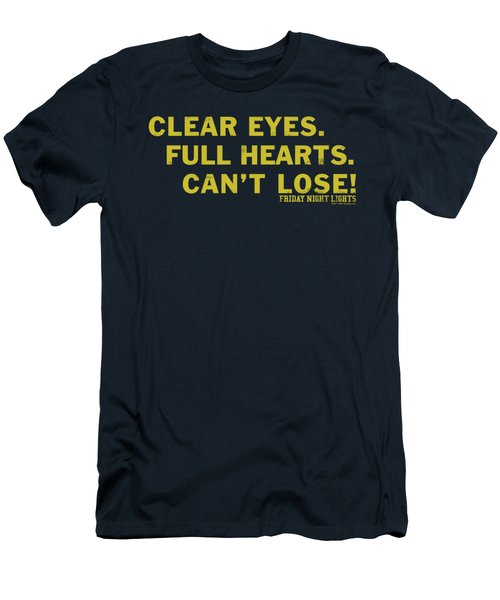Friday Night Lights - Clear Eyes Men's T-Shirt (Athletic Fit)