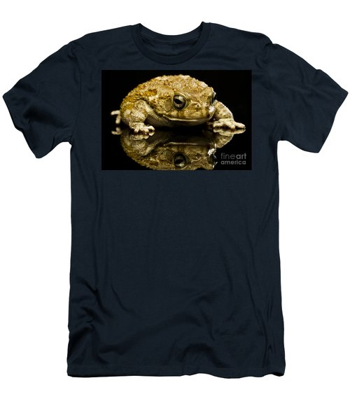 Frog Men's T-Shirt (Slim Fit) by Gunnar Orn Arnason