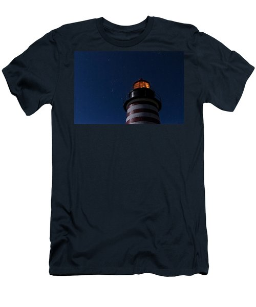 Full Moon On Quoddy Men's T-Shirt (Athletic Fit)
