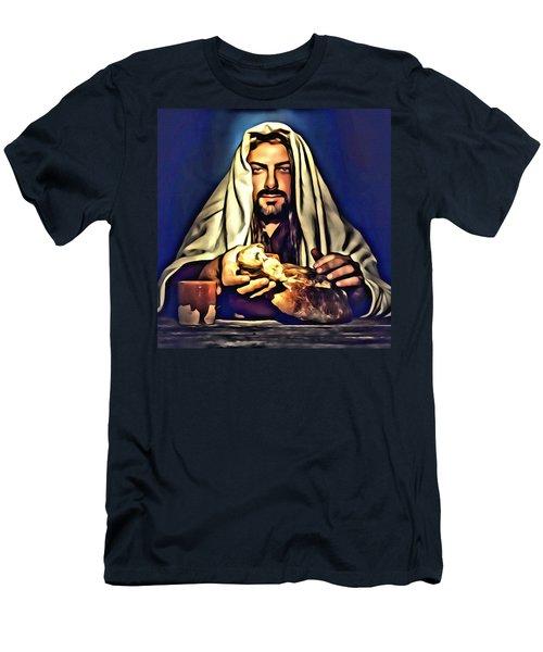 Full Of Love Men's T-Shirt (Slim Fit) by Karen Showell