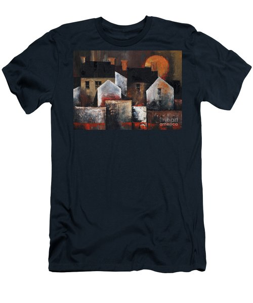 Gables Sunset Men's T-Shirt (Athletic Fit)