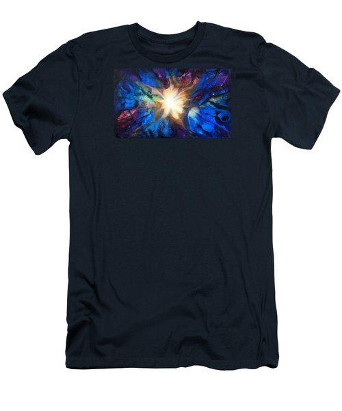Flor Boreal Men's T-Shirt (Slim Fit) by Angel Ortiz