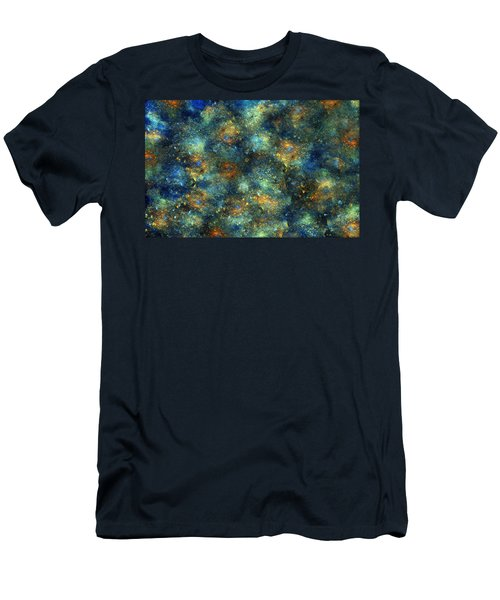 Galaxies  Men's T-Shirt (Athletic Fit)