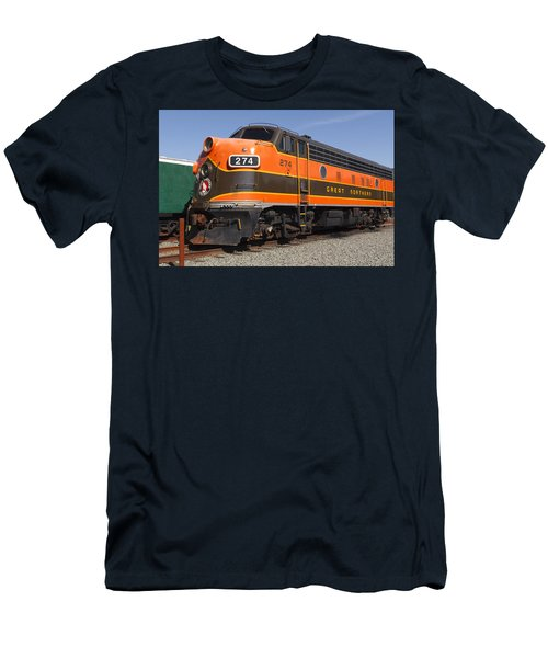 Garibaldi Locomotive Men's T-Shirt (Slim Fit) by Wes and Dotty Weber