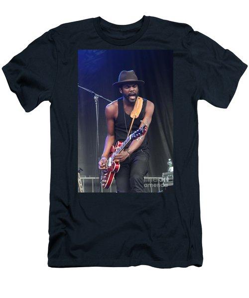 Gary Clark Jr Men's T-Shirt (Athletic Fit)