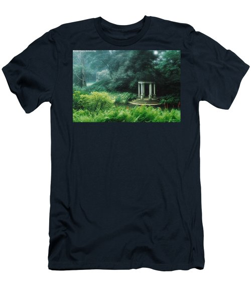 Gazebo Longwood Gardens Men's T-Shirt (Athletic Fit)